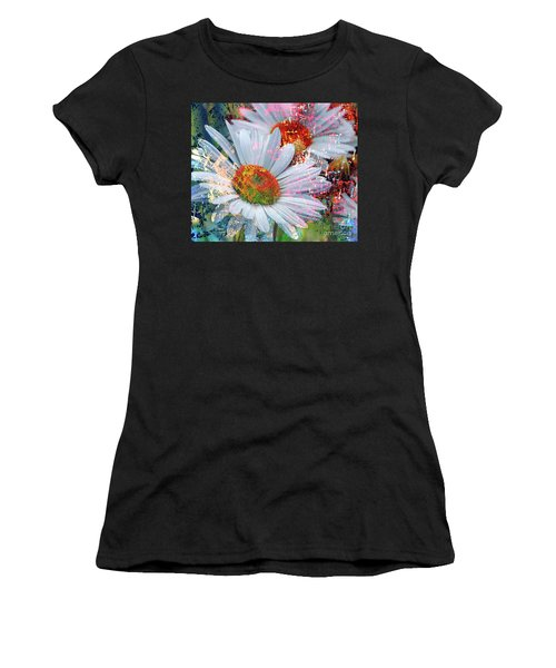 Delightful Daisies Women's T-Shirt (Athletic Fit)