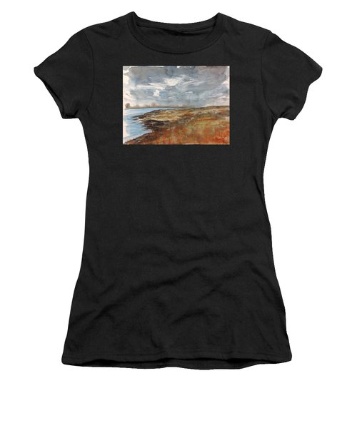 Delta Marsh - Fall Women's T-Shirt (Athletic Fit)
