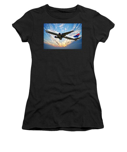 Delta Passenger Plane Women's T-Shirt