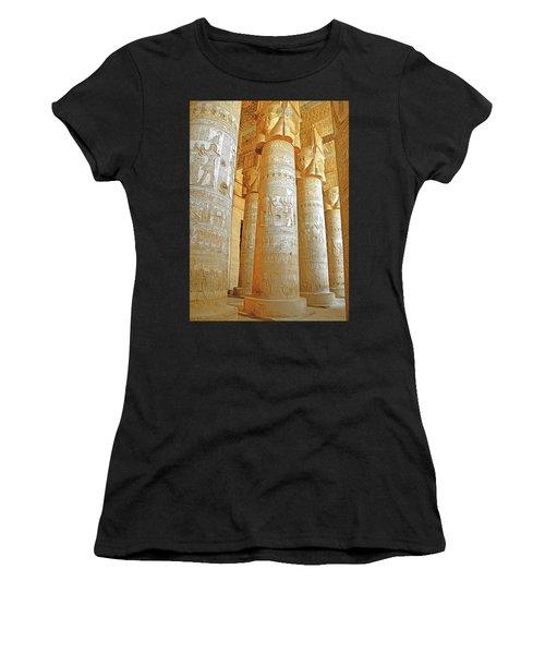 Dendera Temple Women's T-Shirt