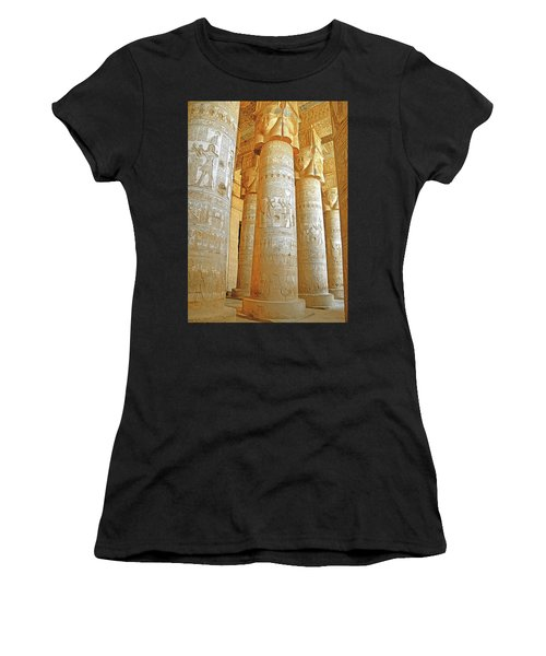 Dendera Temple Women's T-Shirt (Athletic Fit)