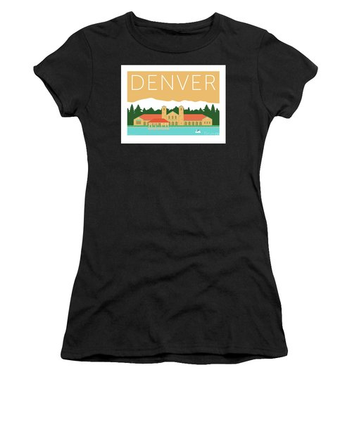 Denver City Park/adobe Women's T-Shirt (Athletic Fit)
