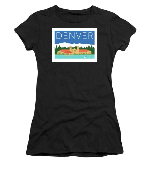 Denver City Park/blue Women's T-Shirt