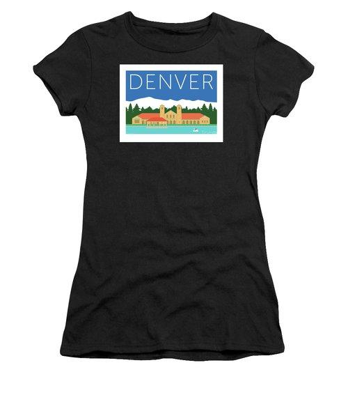 Denver City Park/blue Women's T-Shirt