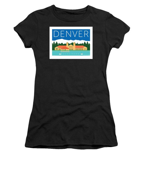 Denver City Park Women's T-Shirt (Athletic Fit)