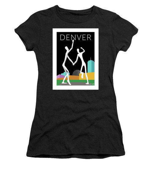 Denver Dancers/black Women's T-Shirt (Athletic Fit)