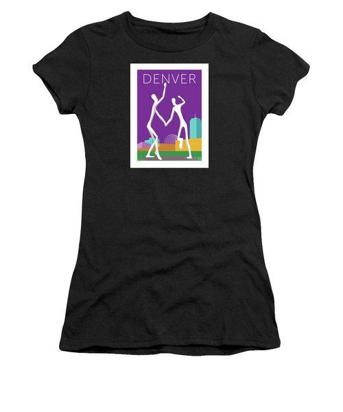 Denver Dancers/purple Women's T-Shirt