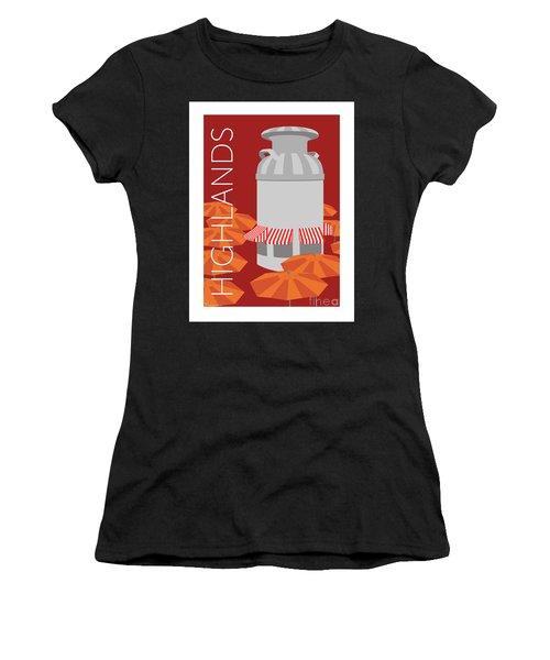 Denver Highlands/maroon Women's T-Shirt