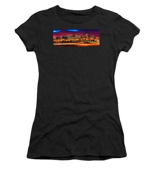 Denver Skyline Sunrise Women's T-Shirt