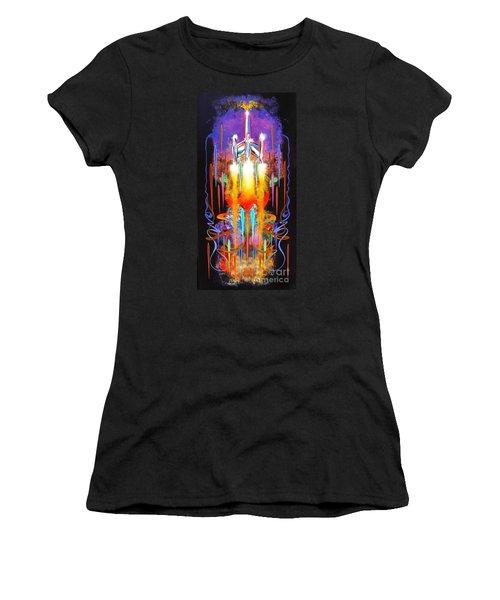 Departure Women's T-Shirt (Junior Cut) by Alan Johnson