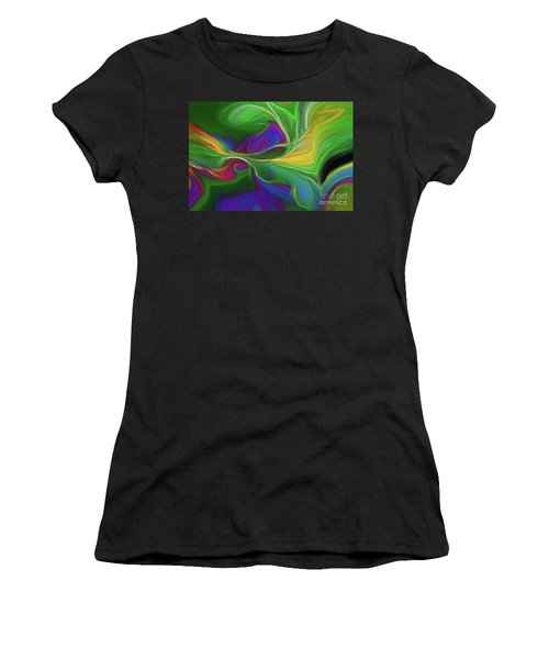 Descending Into Darkness Women's T-Shirt (Athletic Fit)