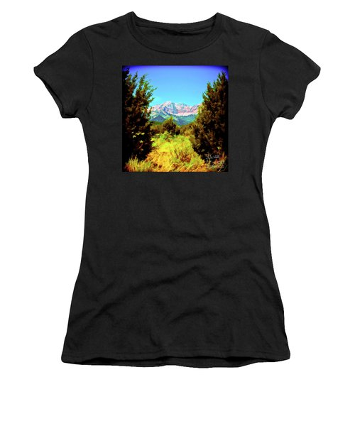 Deseret Peak Women's T-Shirt (Athletic Fit)