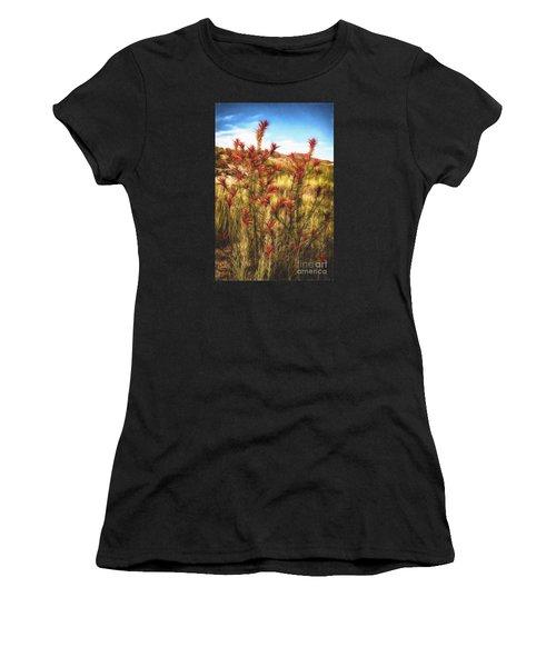 Desert Flora  ... Women's T-Shirt (Athletic Fit)