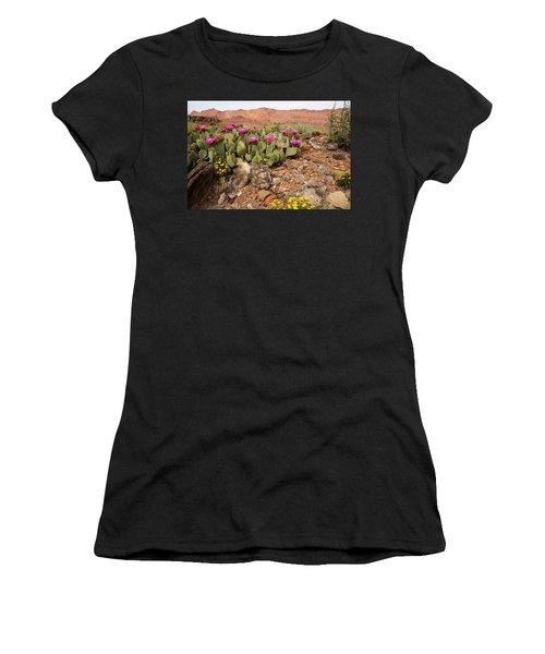 Desert Flowers Women's T-Shirt (Athletic Fit)