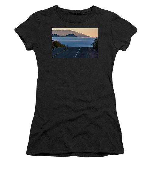 Desert Inversion Highway Women's T-Shirt