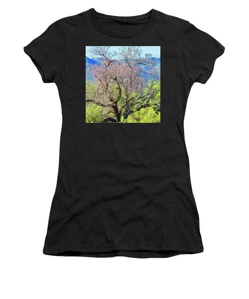 Desert Ironwood Beauty Women's T-Shirt (Athletic Fit)
