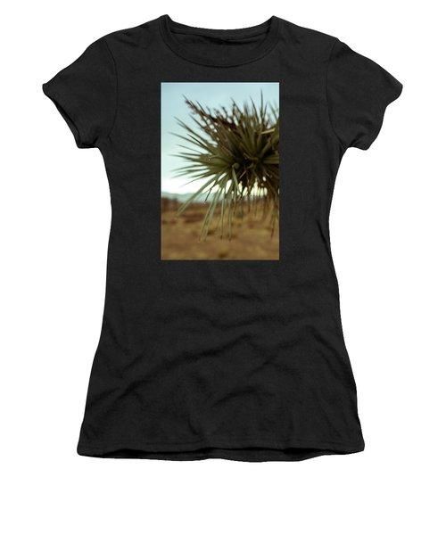 Desert Leaves Women's T-Shirt (Athletic Fit)