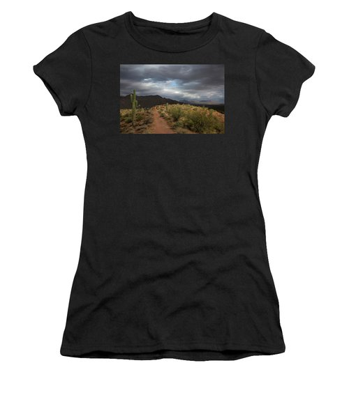 Desert Light And Beauty Women's T-Shirt (Athletic Fit)