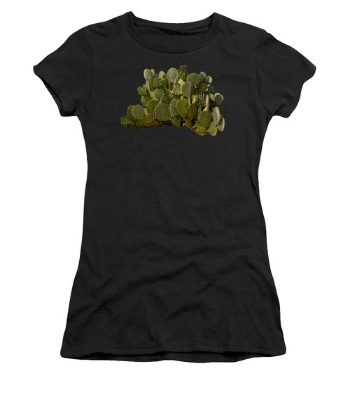 Desert Prickly-pear No6 Women's T-Shirt (Athletic Fit)