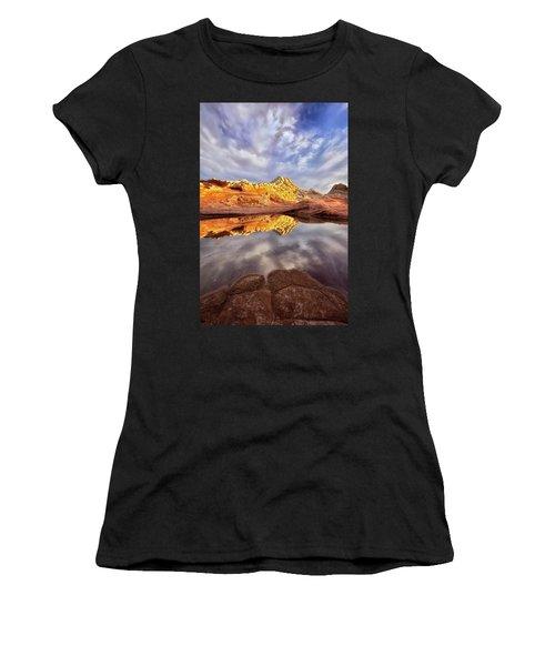Desert Rock Drama Women's T-Shirt (Athletic Fit)