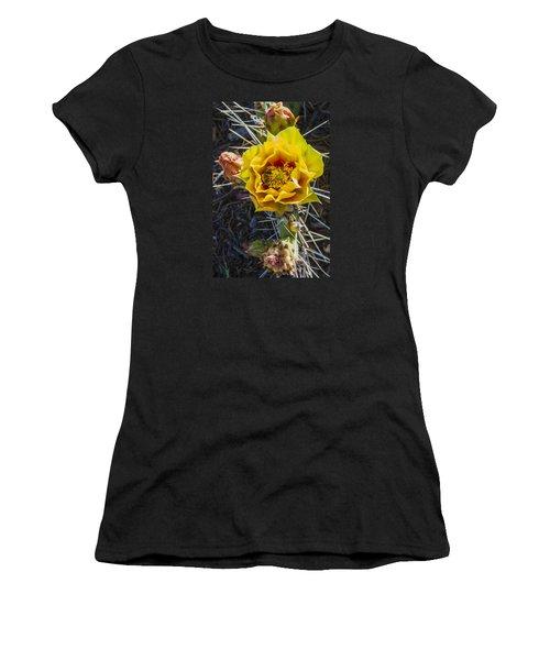 Desert Rose Women's T-Shirt (Athletic Fit)