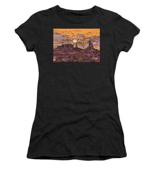 Desert Sunset 2 Women's T-Shirt