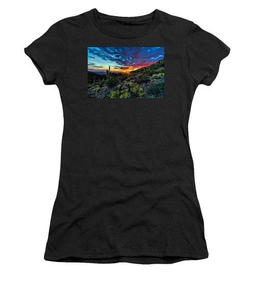 Desert Sunset Hdr 01 Women's T-Shirt