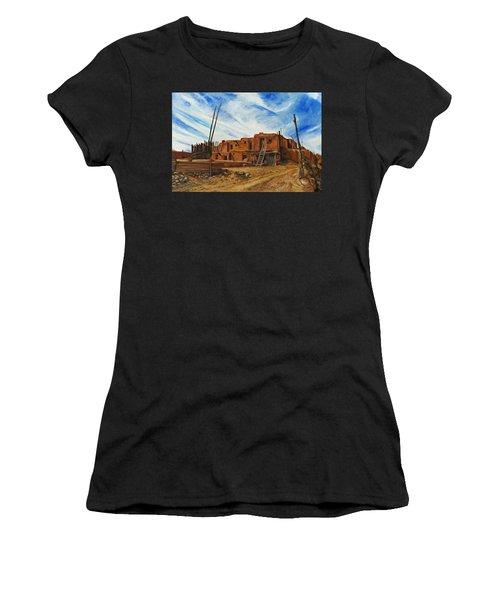 Desert Village New Mexico Women's T-Shirt