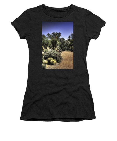 Desert Walkway Women's T-Shirt (Athletic Fit)