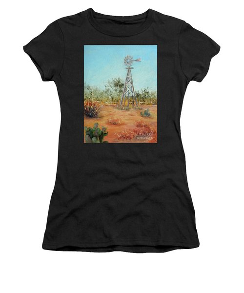 Desert Windmill Women's T-Shirt
