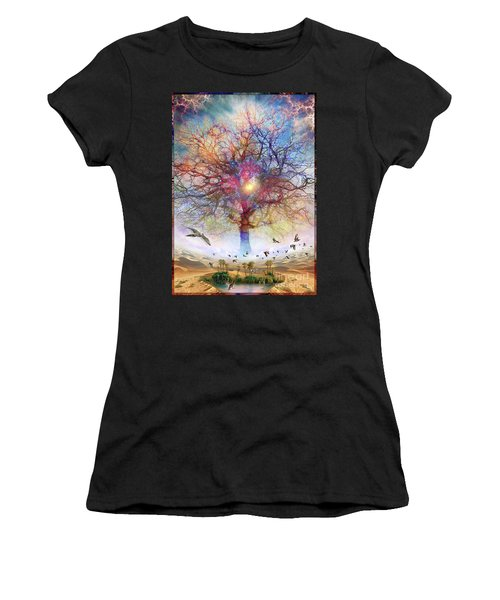 Dessert Of Forgotten Tree Women's T-Shirt