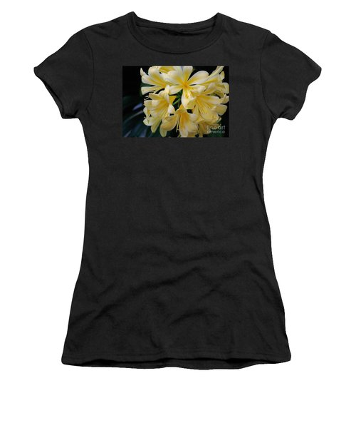 Details In Yellow And White Women's T-Shirt (Junior Cut) by John S