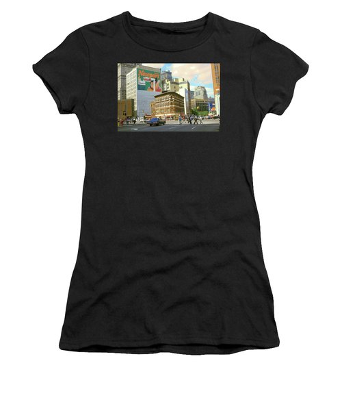 Detroit Michigan 84 - Watercolor Women's T-Shirt