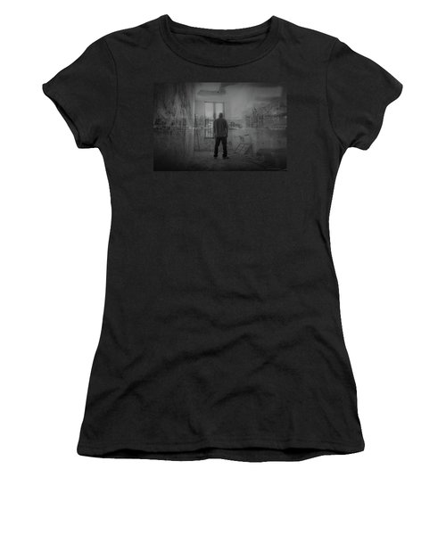Detroit Dreaming Women's T-Shirt (Athletic Fit)