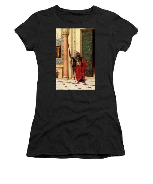 Deutsch Ludwig A Nubian Guard Women's T-Shirt (Athletic Fit)