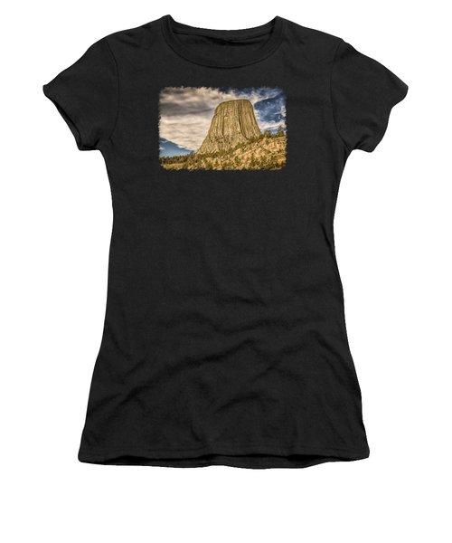 Devils Tower Inspiration 3 Women's T-Shirt