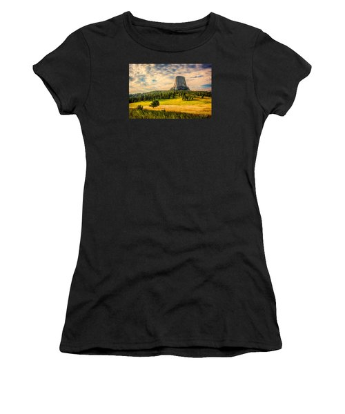 Devil's Tower - The Other Side Women's T-Shirt