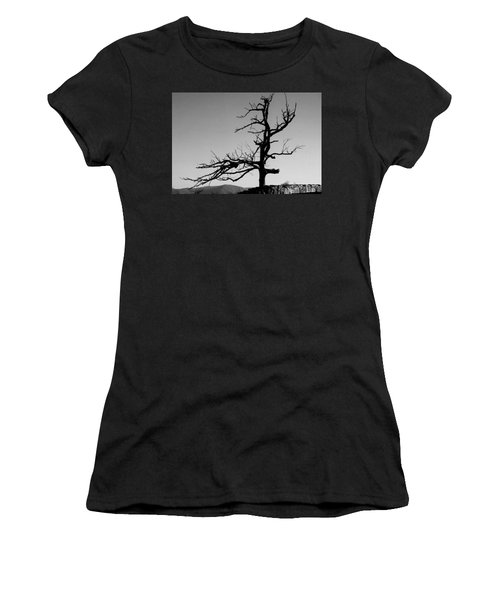 Devoid Of Life Tree Women's T-Shirt (Athletic Fit)