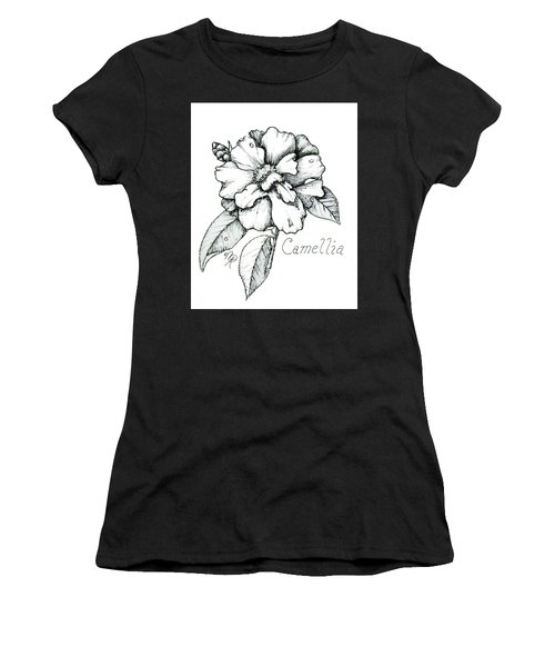 Dew Kissed Camellia Women's T-Shirt