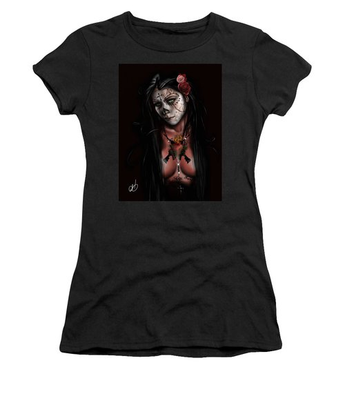 Dia De Los Muertos 3 Women's T-Shirt (Athletic Fit)