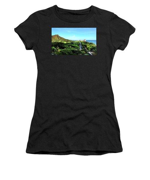 Diamond Head Women's T-Shirt (Athletic Fit)