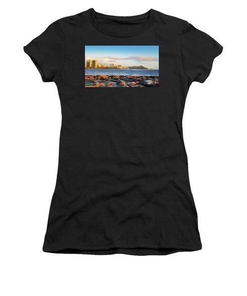 Diamond Head, Waikiki Women's T-Shirt (Athletic Fit)