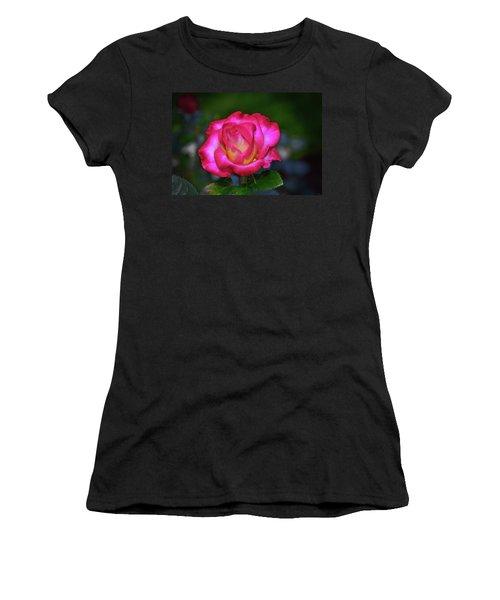 Dick Clark Rose 002 Women's T-Shirt (Athletic Fit)