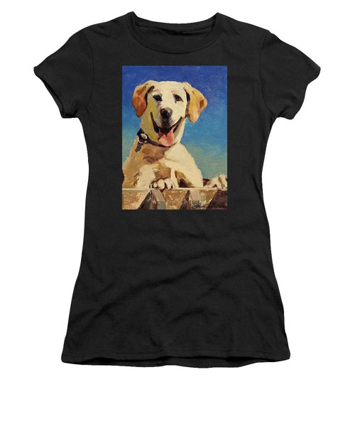 Did Someone Say Treat? Women's T-Shirt (Athletic Fit)