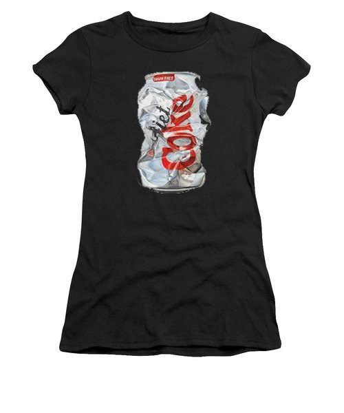 Diet Coke T-shirt Women's T-Shirt (Athletic Fit)