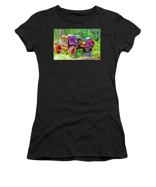 Dilapidated Tractor Women's T-Shirt