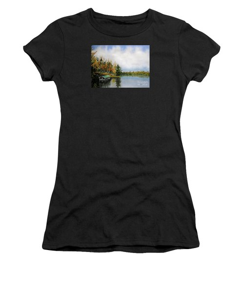 Dillman's Boathouse Women's T-Shirt (Athletic Fit)