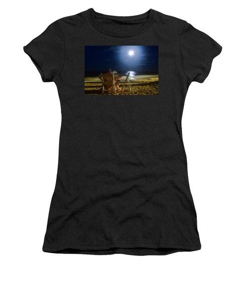 Dinner For Two In The Moonlight Women's T-Shirt