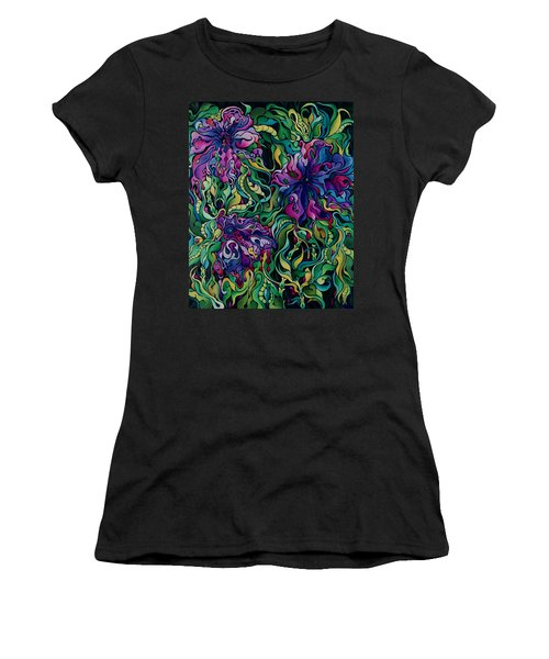 Dioxazine Disintegration Women's T-Shirt
