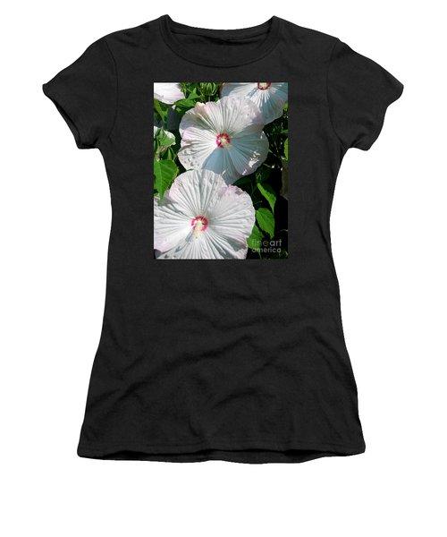 Women's T-Shirt (Junior Cut) featuring the photograph Dish Flower by Brian Jones